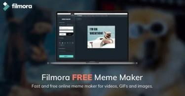 Filmora Meme Generator