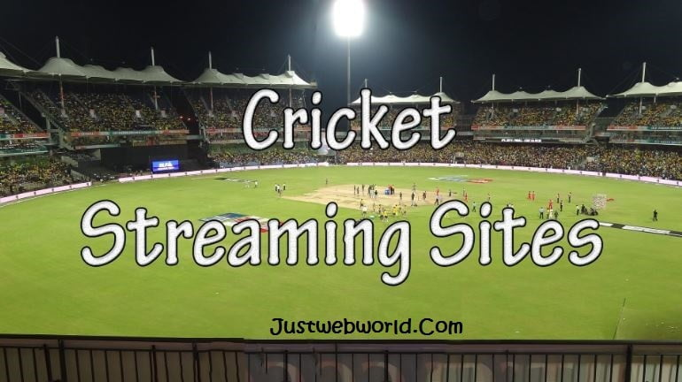 10+ Live Cricket Streaming Sites To Watch Cricket Online