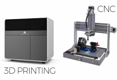 3D Printing vs CNC: Explained