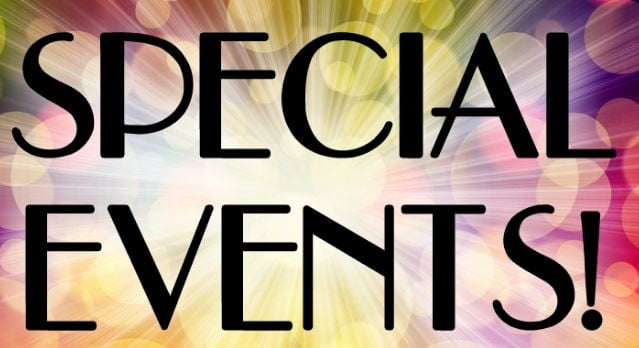 Open Houses or Special Events