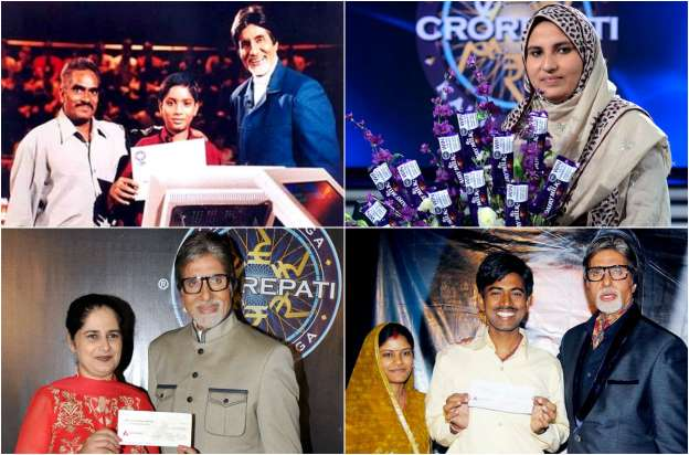 Kaun Banega Crorepati Winners List of All Seasons With Pictures