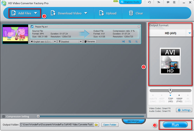 Convert SD Videos to HD Videos