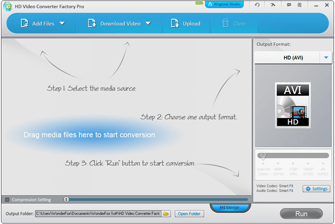 Overview of WonderFox HD Video Converter