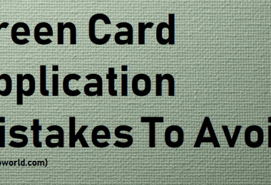 Green Card Application Mistakes To Avoid