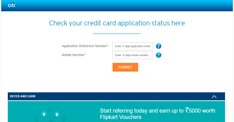 Citibank Credit Card Application Status >> How To Apply For Citibank Credit Card And Check Status Online