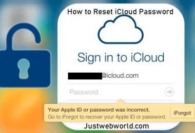 How to Reset iCloud Password