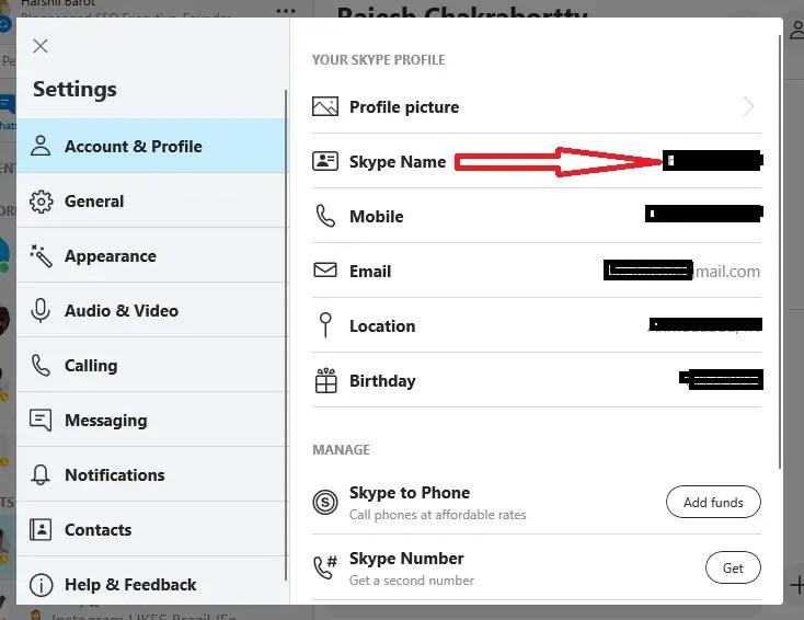 Edit Your Skype Display Name