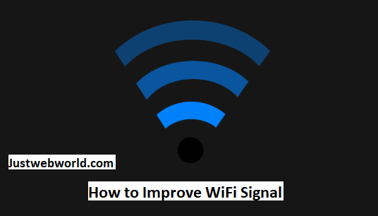 How to Improve WiFi Signal
