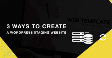 Create A Wordpress Staging Website