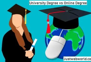 University Degree vs Online Degree