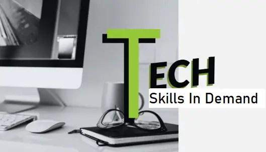 Tech Skills In Demand
