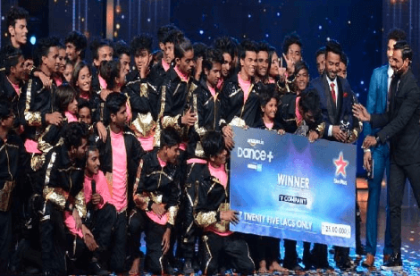 Dance Plus Season 1 Winner