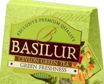 Basilur Bouquet Green Tea
