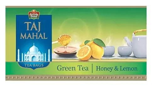 Taj Mahal Honey Lemon Green Tea
