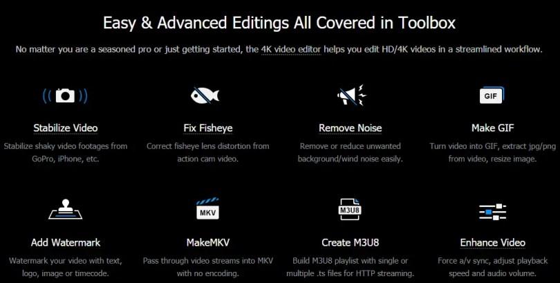 Easy & Advanced Editings