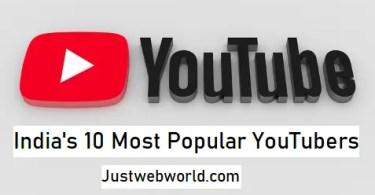 Top Best Youtubers In India