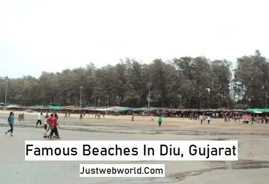 Beautiful Beaches in Daman and Diu