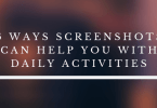 Screenshots Can Help