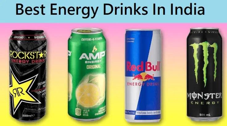 Best Energy Drinks In India