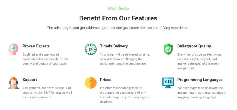 AssignmentCore Benefits