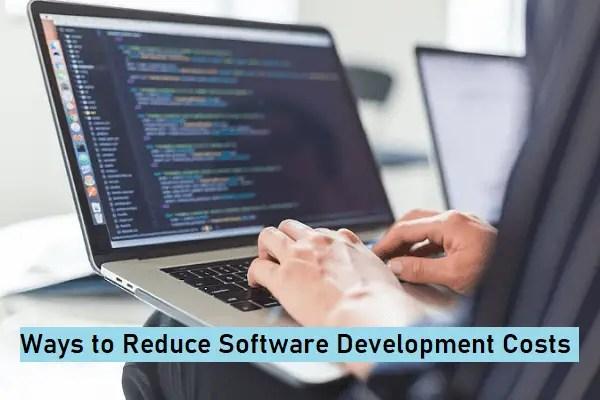 Reduce Custom Software Development Cost