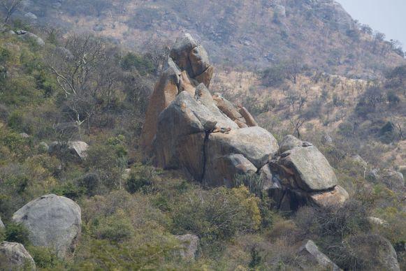 Prachtige rotsen nabij Rumphi