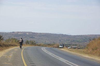 Eenmaal Lilongwe uit is het verkeer snel rustig