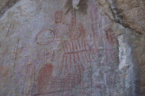 Ook hier weer de oude bosjemannen schilderingen