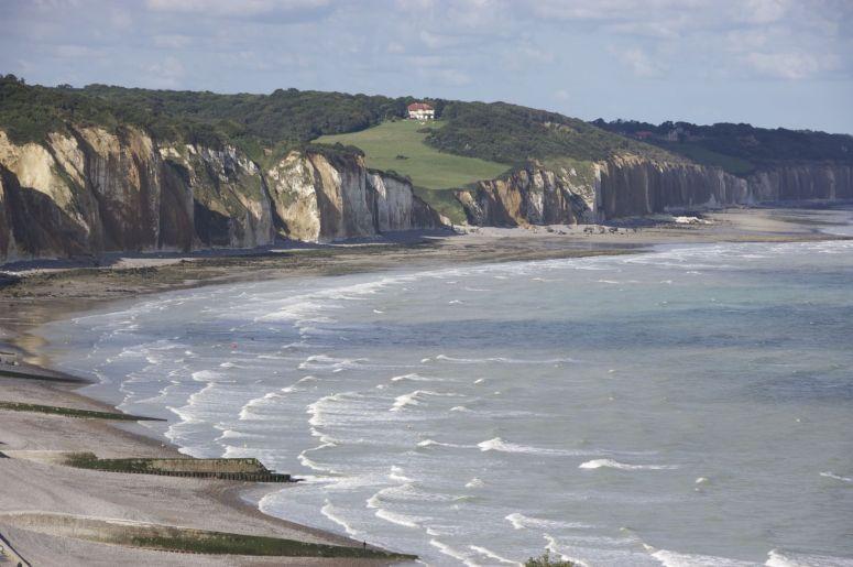 Dit soort uitzichten maak van Normandië mijn favoriete stuk van deze vakantie.