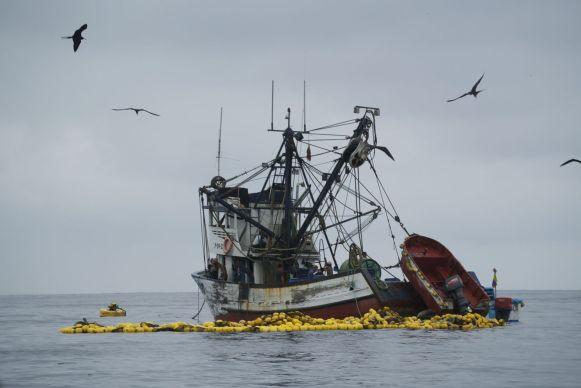 Puerto Lope is in de eerste plaats een vissersdorp