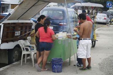 Streetfood, Bahía de Caráquez.
