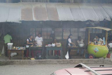 Streetfood in Mindo