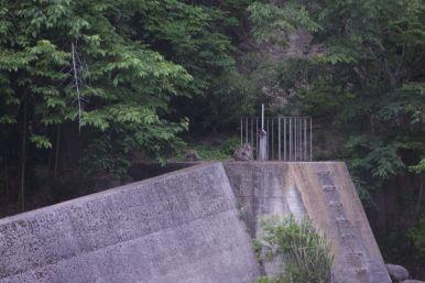 Greenpark Fukiware, Numata is belachelijk duur voor een camping zonder douche. Maar uitzicht op apen maakt weer een hoop goed.