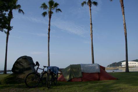 Weer eens camperen met uitzicht op zee!