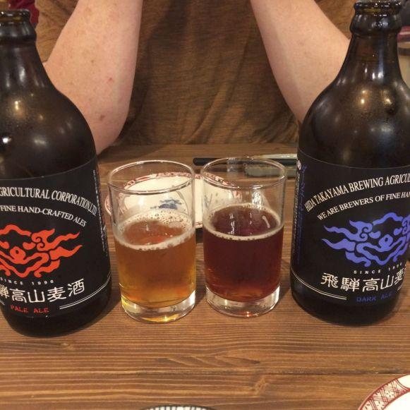 Craft bier zie je behoorlijk veel in Japan.