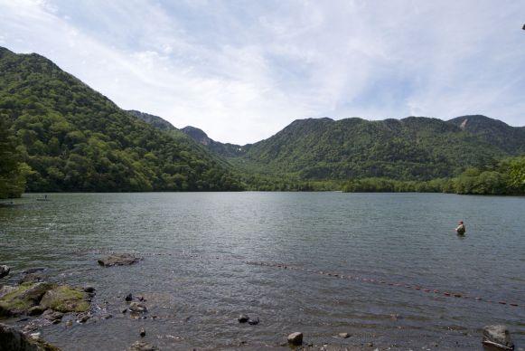 En diverse meren met ook weer fijn uitzicht.