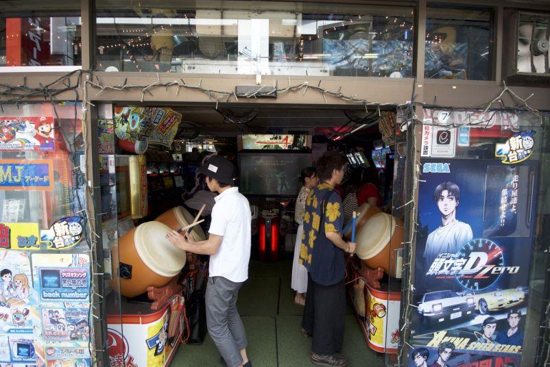 Spelletjes bedienen via drums, geen idee hoe dat werkt.