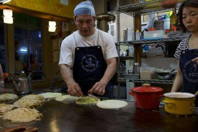 Okonamiyaki bij Lopez