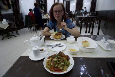 Het eten is vele malen lekkerder dan verwacht. We zullen nog regelmatig Lagman bestellen!