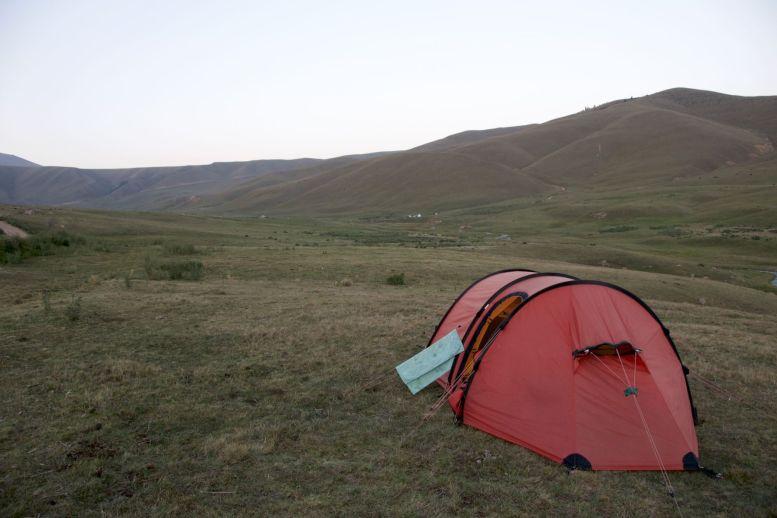 Geen vervelende plek om te kamperen.
