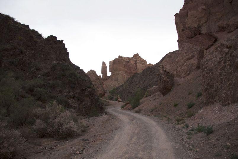 's avonds wandelen we nog even door de prachtige canyon.