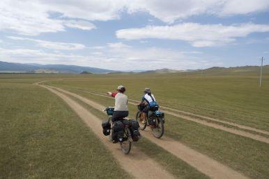 De route is voorlopig goed fietsen.