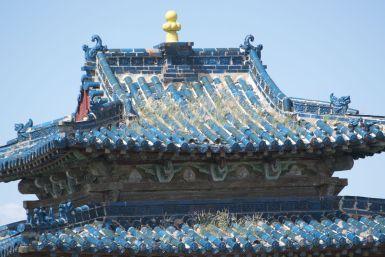 Ik vind blauwe daken erg mooi, weer eens wat anders dan onze rode pannen.