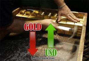 punca harga emas jatuh