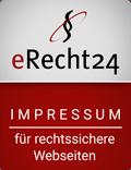 Erecht24 Siegel von Kossmedia