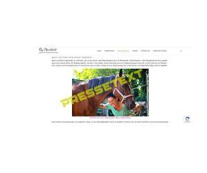 Pferdegestütztes Coaching Presse Deutschland