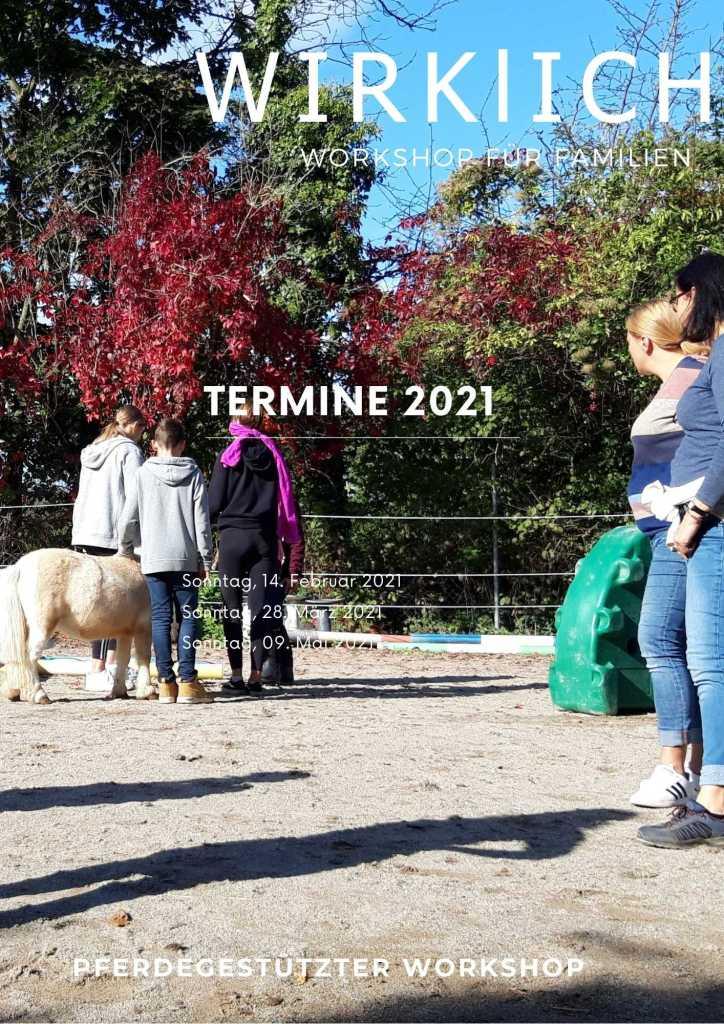 Pferdegestütztes Coaching Workshop für Familien