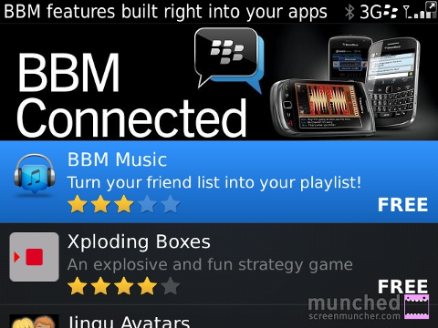BBM Connected Apps