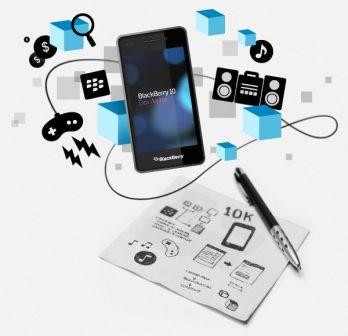 BlackBerry 10 Dev Alpha 10K Commitment