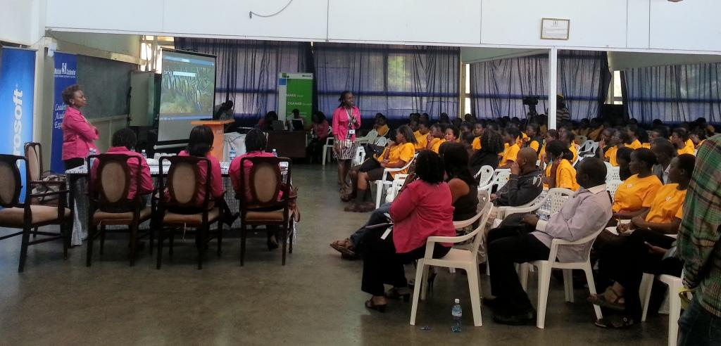 Microsoft East and Southern Africa DigiGirlz Initiative in Kenya for more women in ICT and leadership